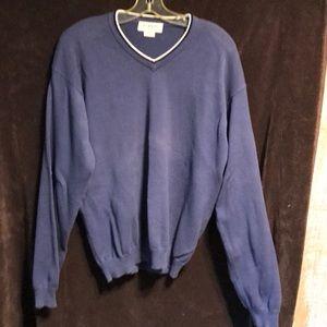 Vintage J. crew v neck sweater pullover large